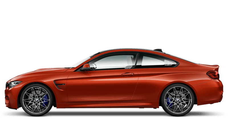 Sakhir Orange II (Metallic) BMW M4 Coupé