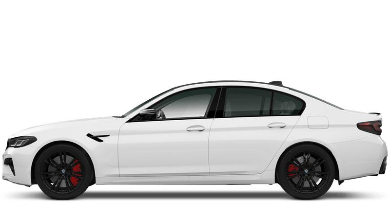 Alpine White (Solid) BMW M5 Competition Saloon