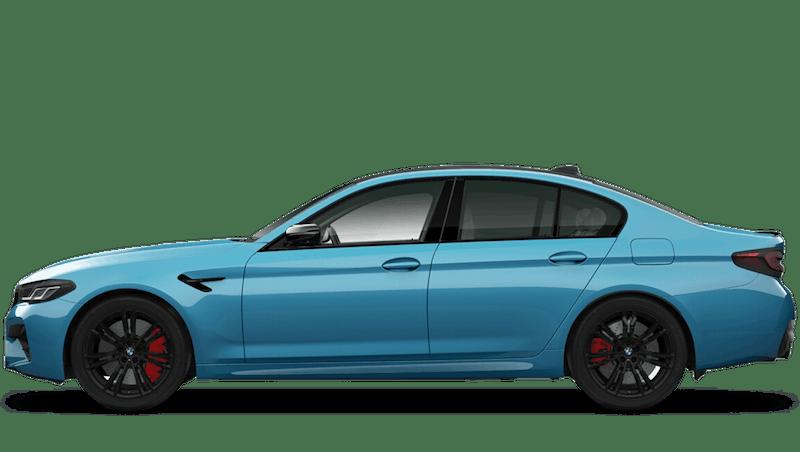 Snapper Rocks Blue (Metallic) BMW M5 Competition Saloon