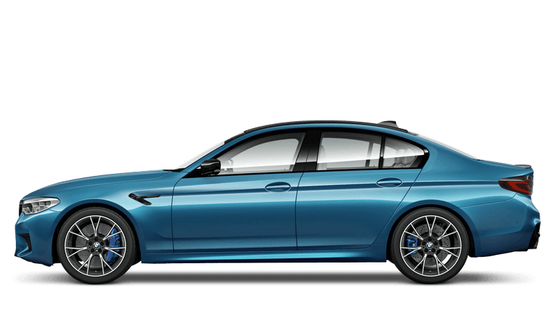 Snapper Rocks Blue (Metallic) BMW M5 Competition Saloon