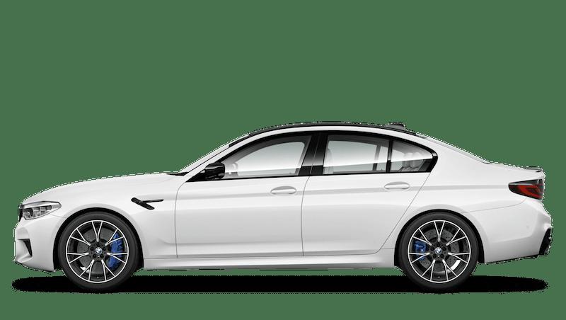 Alpine White (Solid) BMW M5 Saloon