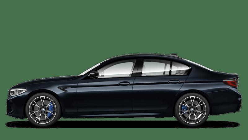 Azurite Black (Metallic) BMW M5 Saloon