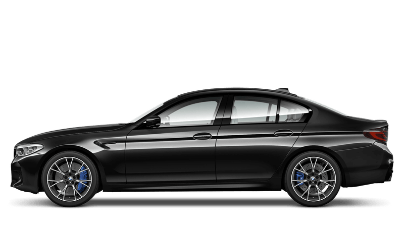 Black Sapphire (Metallic) BMW M5 Saloon