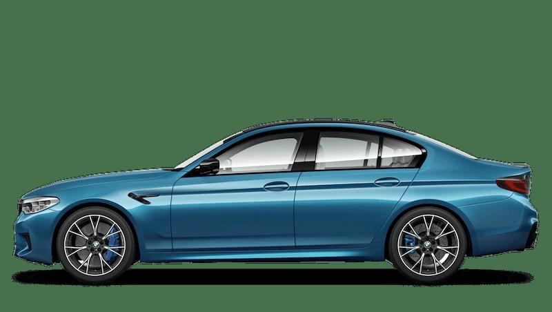 Snapper Rocks Blue (Metallic) BMW M5 Saloon