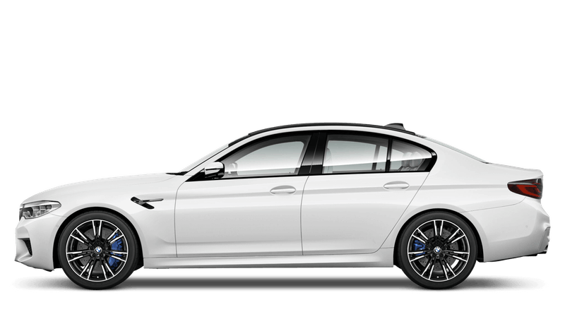 Alpine White (Solid) BMW M5 Saloon