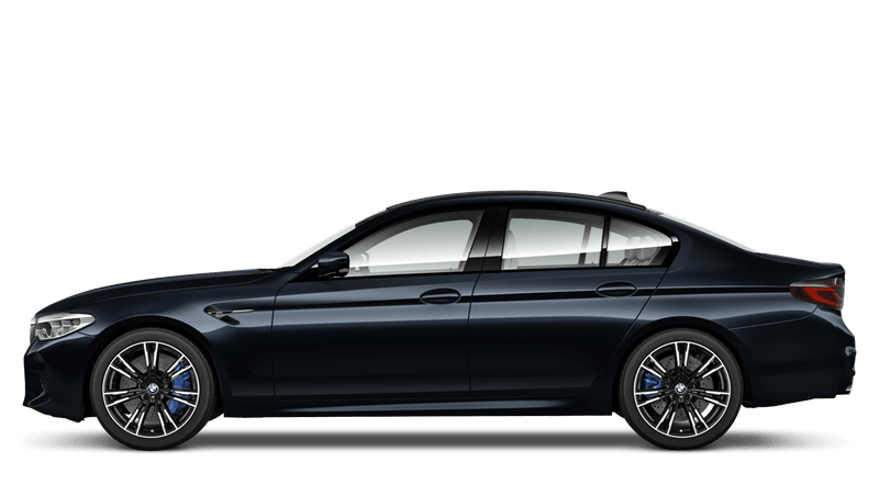 Azurite Black (Metallic) BMW M5 Saloon