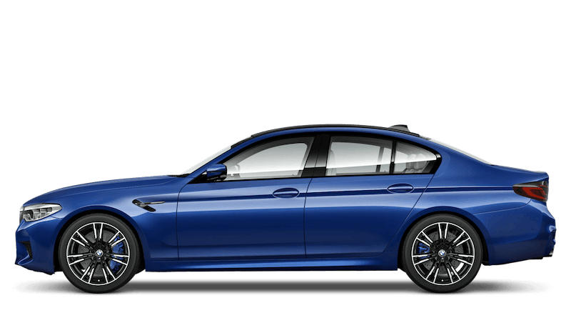 Marina Bay Blue (Metallic) BMW M5 Saloon