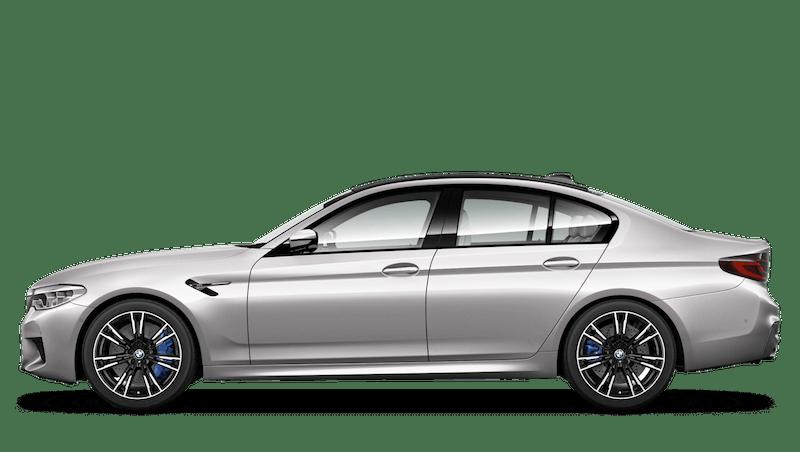 Rhodonite Silver (Metallic) BMW M5 Saloon