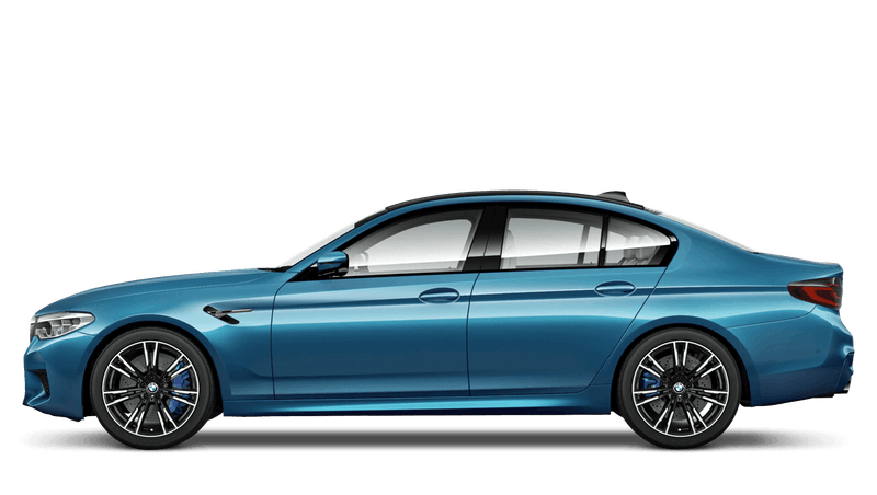 Snapper Rocks Blue (Metallic) BMW M5 Saloon