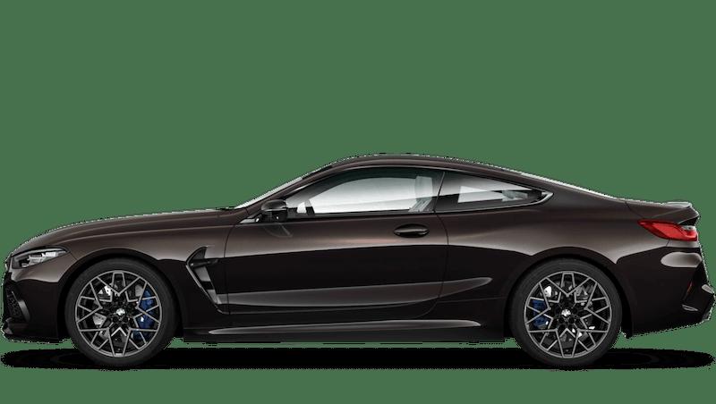Almandine Brown (Metallic) BMW M8 Competition Coupé