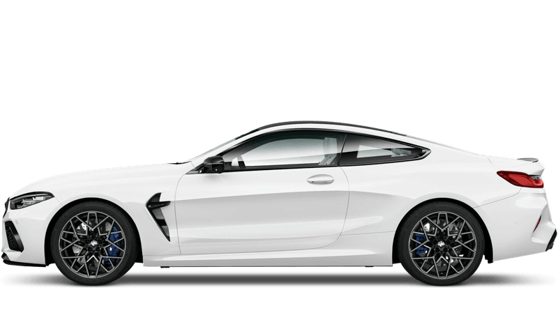 Alpine White BMW M8 Competition Coupe