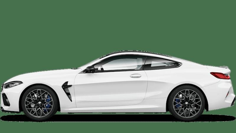 Alpine White BMW M8 Competition Coupé