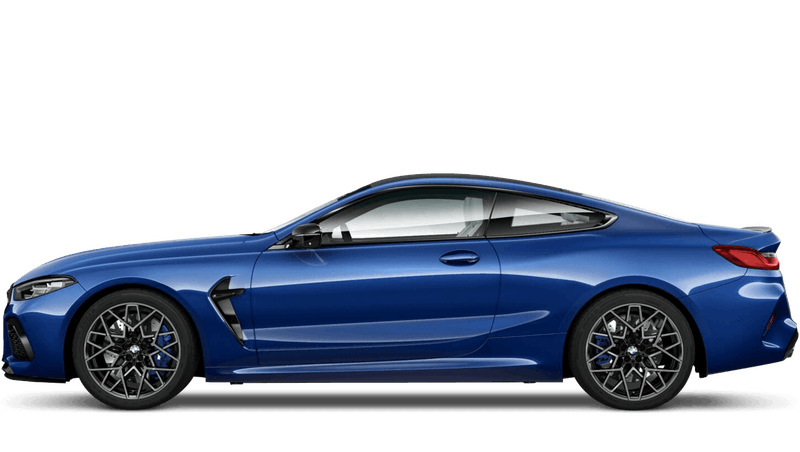 Marina Bay Blue (Metallic) BMW M8 Competition Coupe