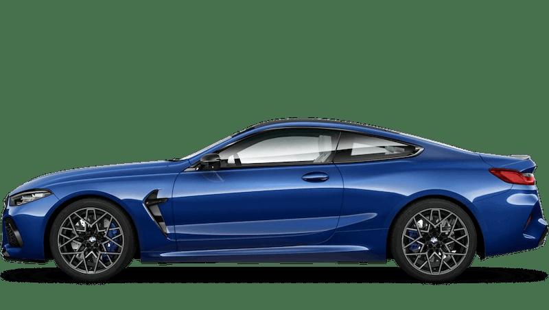 Marina Bay Blue (Metallic) BMW M8 Competition Coupé