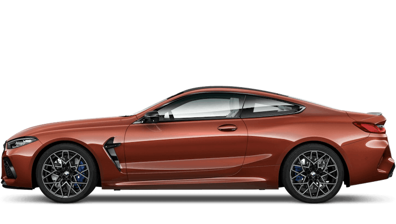 Motegi Red (Metallic) BMW M8 Competition Coupe