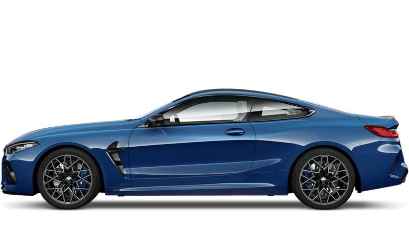 Sonic Speed Blue BMW M8 Competition Coupe