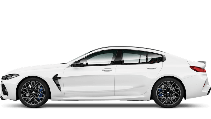 Alpine White (Solid) BMW M8 Competition Gran Coupe