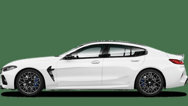 Alpine White (Solid) BMW M8 Competition Gran Coupé