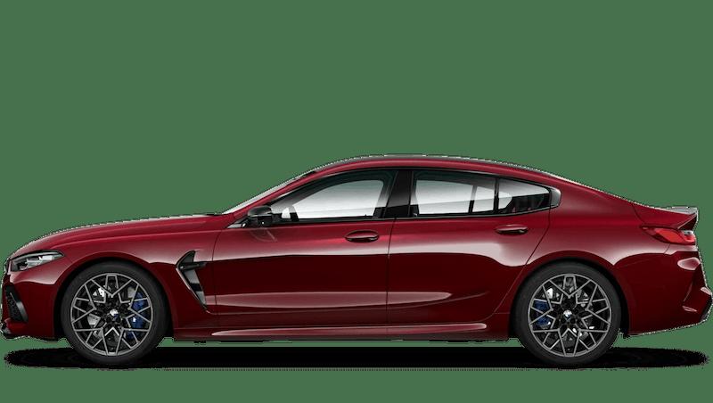 Aventurine Red (Metallic) BMW M8 Competition Gran Coupe