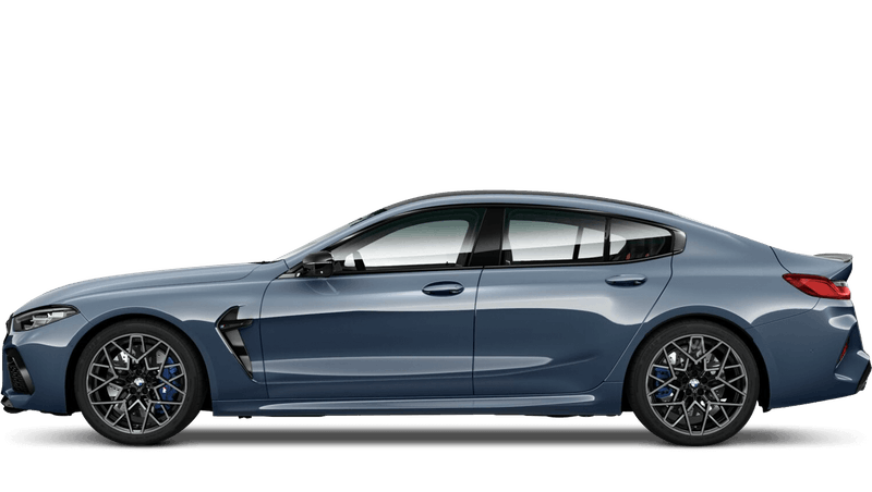Barcelona Blue (Metallic) BMW M8 Competition Gran Coupe