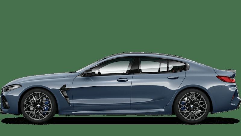 Barcelona Blue (Metallic) BMW M8 Competition Gran Coupé