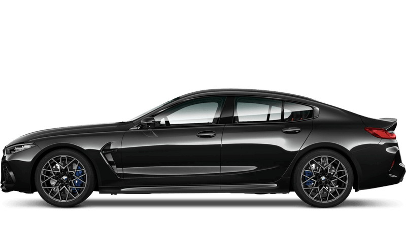 Black Sapphire (Metallic) BMW M8 Competition Gran Coupe