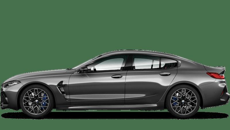 Brands Hatch Grey (Metallic) BMW M8 Competition Gran Coupé