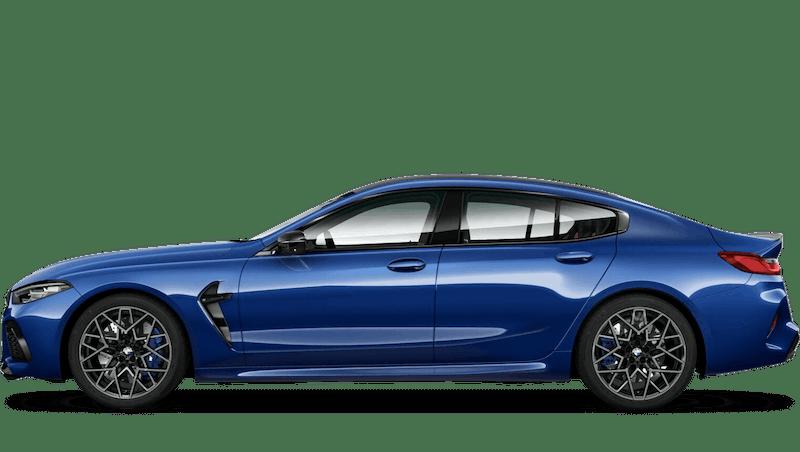 Marina Bay Blue (Metallic) BMW M8 Competition Gran Coupe
