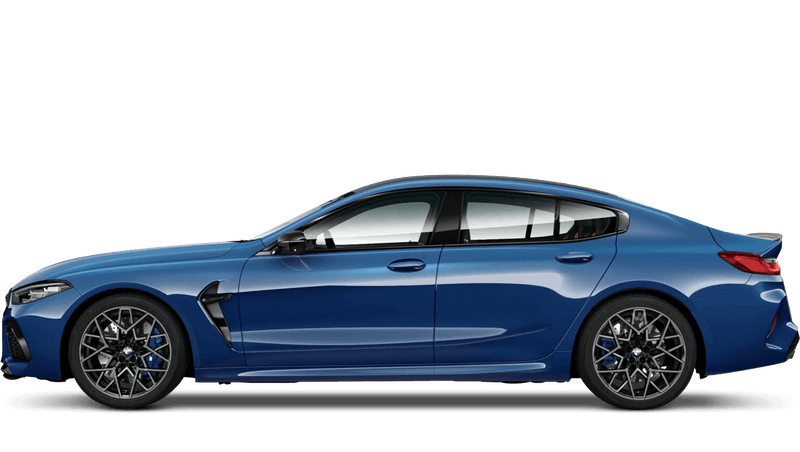 Sonic Speed Blue (Metallic) BMW M8 Competition Gran Coupé