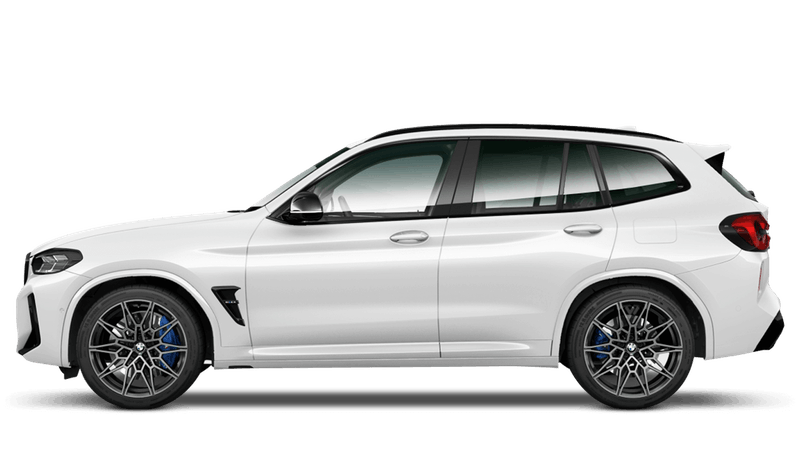 Alpine White (Solid) BMW X3 M Competition