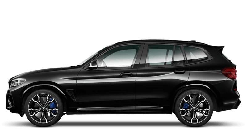 Black Sapphire (Metallic) BMW X3 M Competition