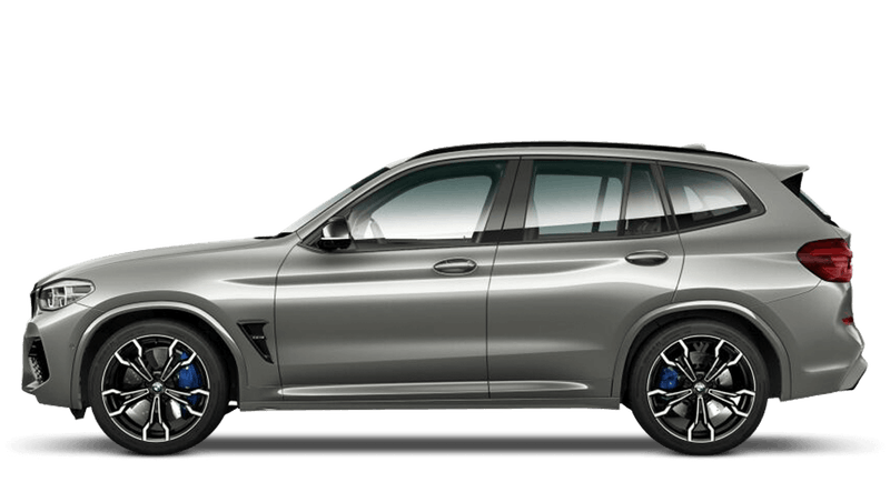 Donington Grey (Metallic) BMW X3 M Competition