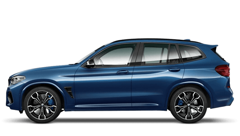 Phytonic Blue (Metallic) BMW X3 M Competition