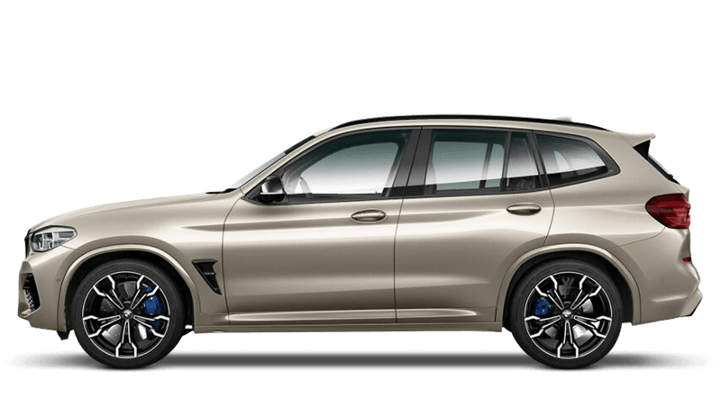 Sunstone (Metallic) BMW X3 M Competition