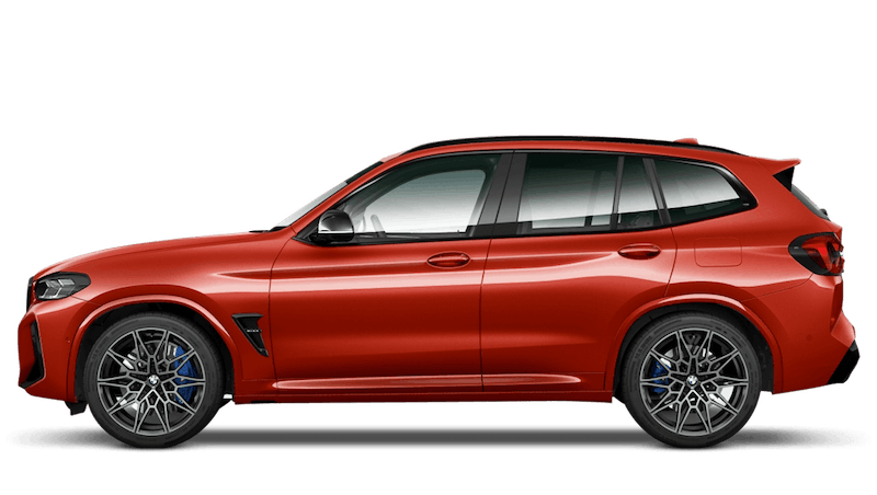 Toronto Red BMW X3 M Competition
