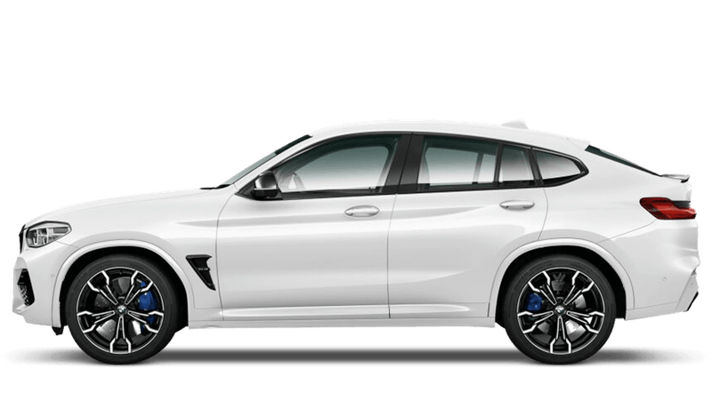 Alpine White (Solid) BMW X4 M Competition