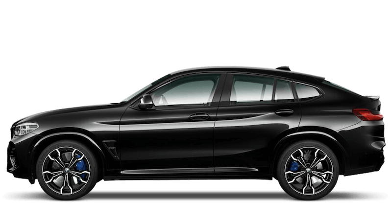 Black Sapphire (Metallic) BMW X4 M Competition