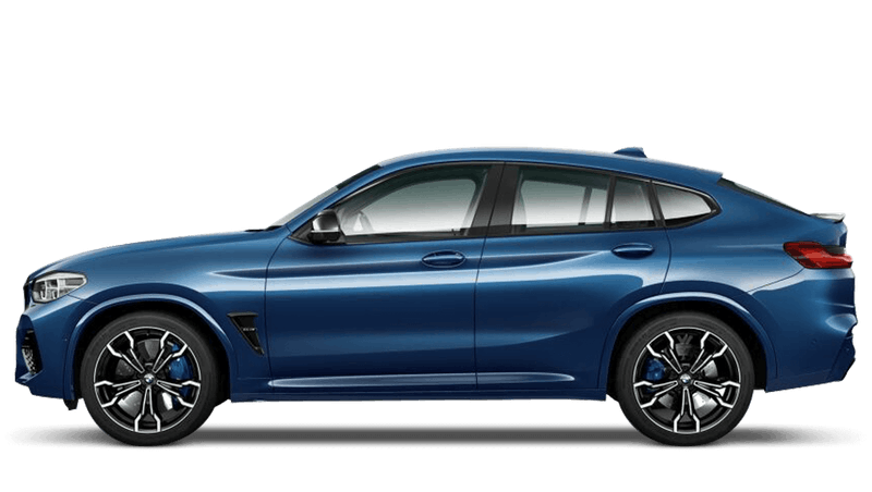 Phytonic Blue (Metallic) BMW X4 M Competition