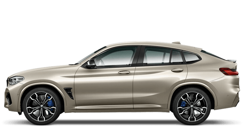 Sunstone (Metallic) BMW X4 M Competition