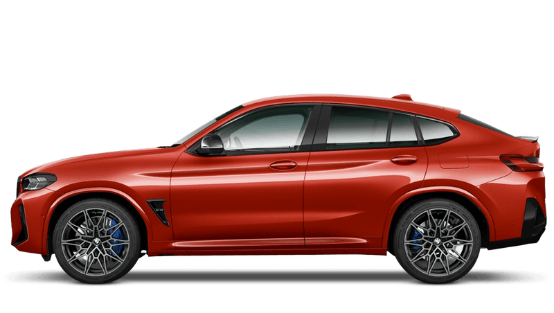 Toronto Red BMW X4 M Competition