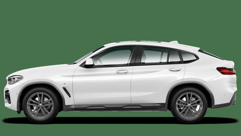 Alpine White (Solid) BMW X4