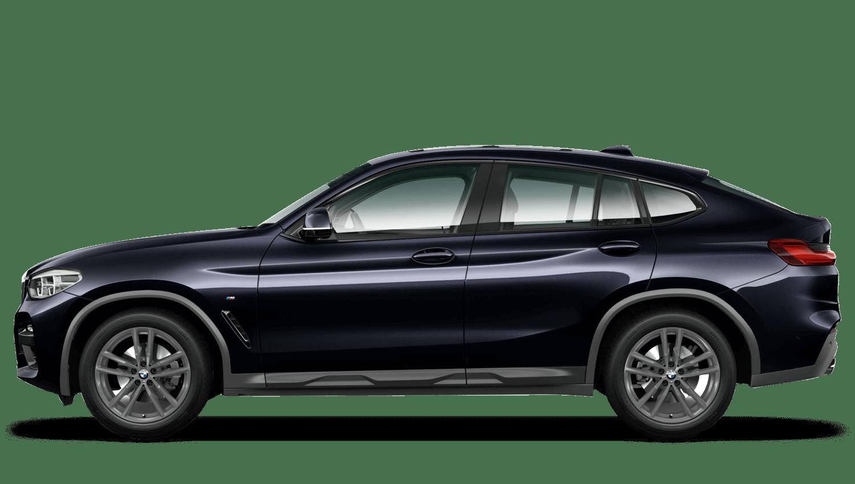 Carbon Black (Metallic) BMW X4