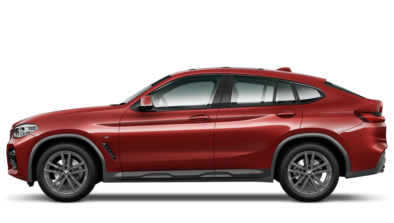 Flamenco Red (Metallic) BMW X4