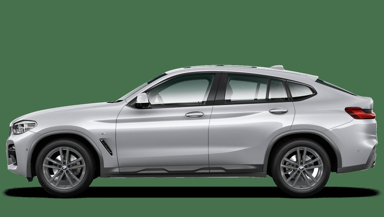 Glacier Silver (Metallic) BMW X4