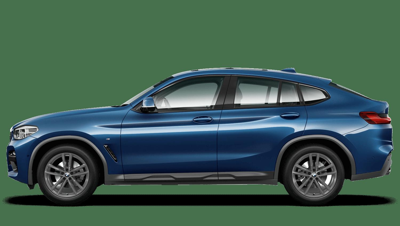 Phytonic Blue (Metallic) BMW X4