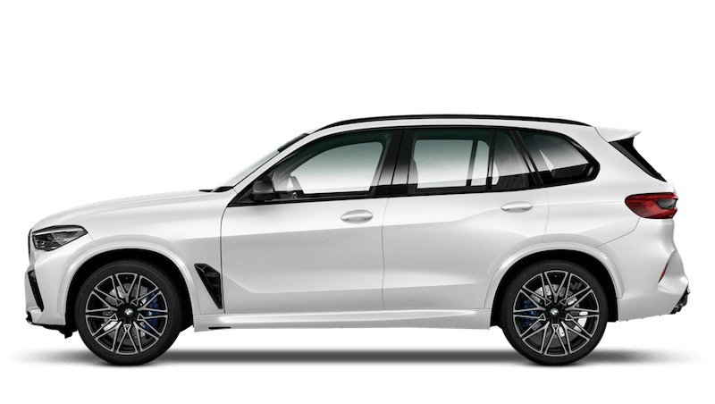 Mineral White (Metallic) BMW X5 M Competition