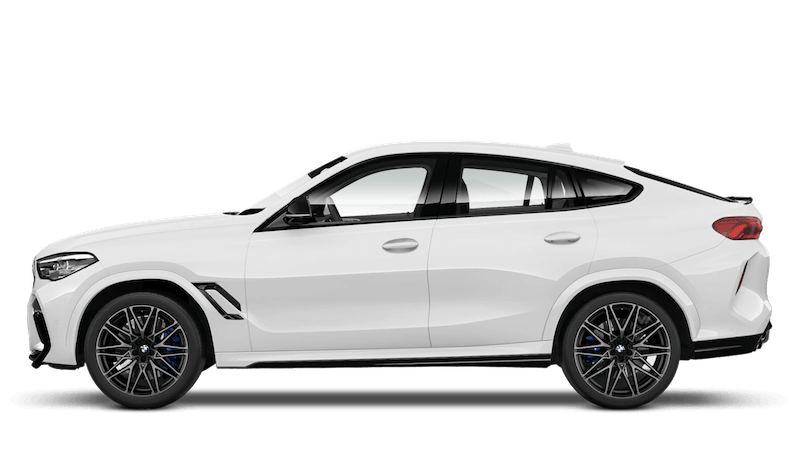 Alpine White (Solid) BMW X6 M Competition