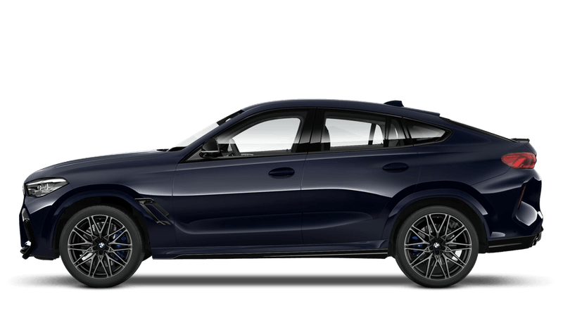 Carbon Black (Metallic) BMW X6 M Competition