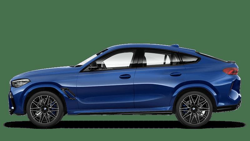 Marina Bay Blue (Metallic) BMW X6 M Competition