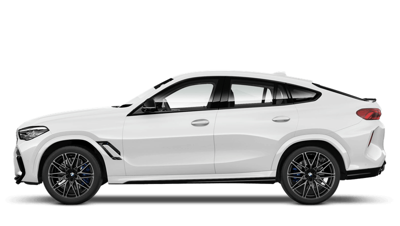 Mineral White (Metallic) BMW X6 M Competition